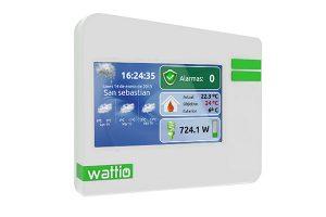 sistema domótico wattio smarthome