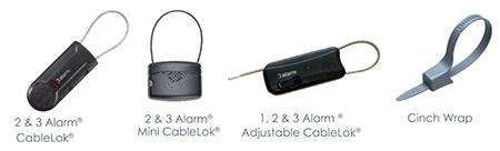Cinchos y cables de seguridad CableLok