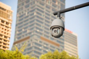 cámara de vigilancia CCTV PTZ